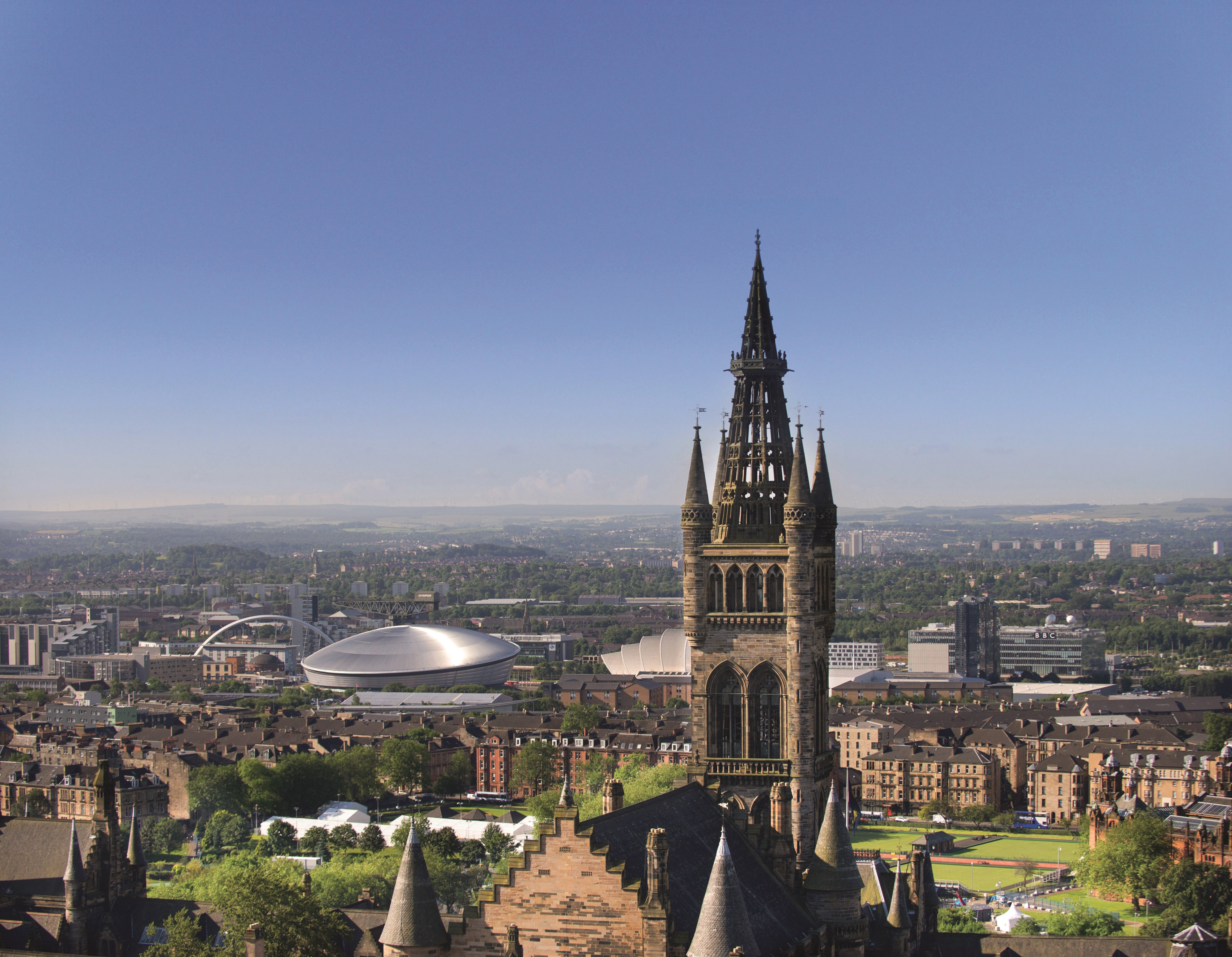 Viewpoint from Glasgow Uni-extra-sky.jpg